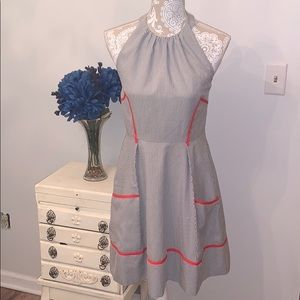 Jessica Simpson pinup inspired dress
